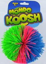 "MONDO KOOSH Ball BIG 4"" Toy ODDZON Hasbro Basic Fun Natural Latex Rubber NEW S3"
