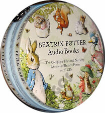 Tales Of Beatrix Potter Young Childrens Stories Nursery Rhymes 23 CD Audio Book