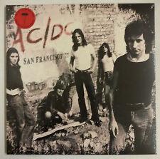 AC/DC San Francisco 1977 2-LP RU 2016 Affiche gatefold vinyle rojo
