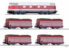 HS Tillig 01447 Güterwagenset der DR  in TT mit Zubehör