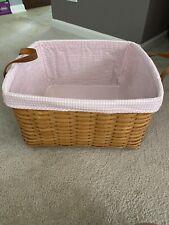 Longaberger Hostess-Only Small Wash Day Basket Combo