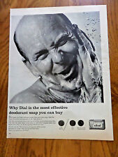 1965 Dial Soap Bar Ad Why Dial is the Most Effective Deodorant Soap you can Buy