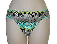 La Blanca green hipster bikini bottom size 6 swimsuit women new
