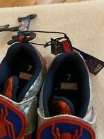 Marvel SPIDERMAN Light-up Sneakers Athletic Shoes Toddler Boys Toddler