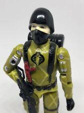 Python Patrol Cobra Soldier Trooper Black Major GI Joe