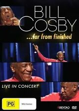 Bill Cosby - Far From Finished (DVD, 2014)-free post