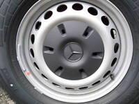 New Mercedes Sprinter W609  Wheel Hub Caps Covers Trims  2003 Onward SINGLE