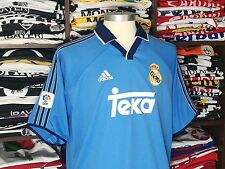 REAL MADRID third 2000/01 shirt Luís FIGO #10 - Portugal-Inter Milan-Jersey (L)