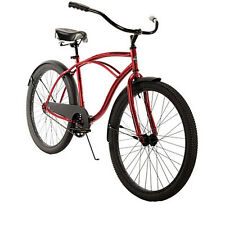 "26"" Huffy Mens' Cranbrook Cruiser Bike, Red"
