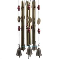 Outdoor Living Wind Chimes Tubes Bells Copper Windchimes Home Garden Yard Decor