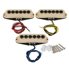 Single Coil Pickup Set Invader Type Cream For Electric Strat Guitar Replacement