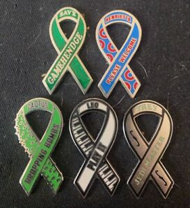 Phish-Ribbon 5 Pin Set  Limited Edition Sold Out
