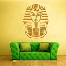 Wall Decal Sticker Bedroom Decals Egypt Face Antic Pharaoh Tutankhamun (Z609)
