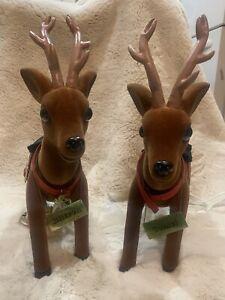 Vintage 1991 Telco Motionette Comet Reindeer Christmas RARE
