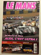 LE MANS RACING N°68 2011 24 HEURES DU MANS AUDI