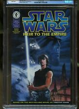 STAR WARS: HEIR TO THE EMPIRE #1 CGC GRADED 9.6 WHITE PAGES 1995 #3713577030