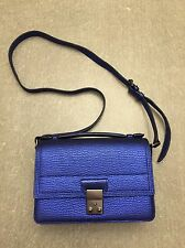 3.1 Phillip Lim Electric Blue Pashli Mini Messenger Crossbody Shoulder Bag