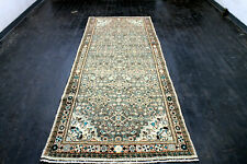 10X4 1960's Masterpiece Mint Hand Knotted Rare Heratii Oriental Wool Rug Runner