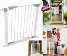 Us Pet Fence Dog Gate Baby Barrier Walk Indoor Door Toddler Through Safety Fence