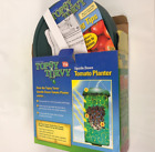 Topsy Turvy Upside Down Tomato Planter Green Round Grow Bag Swivel Top New