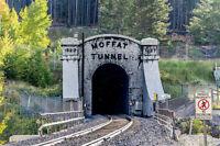 MOFFAT WEST TUNNEL PORTAL Historic 3D Model Railroad - HO Scale 1:87 - HO Gauge