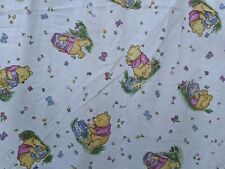 Vintage 1998 Classic Pooh Honey Pots Winnie the Pooh Fitted Crib Sheet