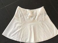 Temperley London New & Genuine Ladies Cream & Lace Skirt Size 8 UK
