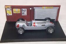 Diorama Auto Union Typ C Bernd Rosemeyer 1936/37 - Modellauto 1:20 Revival - NEU