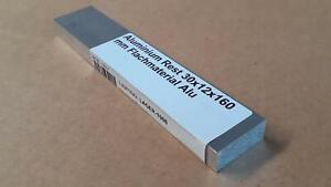 (21,63 EUR/m) Aluminium Rest 30x12x160 mm Flachmaterial Alu