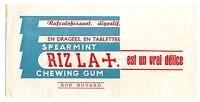 Buvard publicitaire Biscottes chewing gum Riz la croix