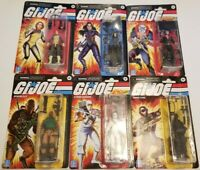 GI Joe Retro Collection Walmart Exclusive Lady Jaye Duke Cobra Commander Snake