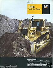 Equipment Brochure - Caterpillar - D10R - Track-Type Tractor 1997 (E3175)