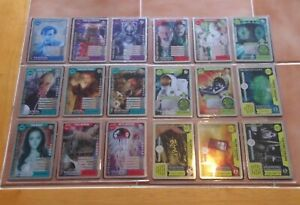 Dr Doctor Who MONSTER INVASION EXTREME - Complete Set of all 18 Rare Cards - NEW