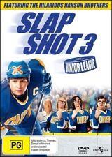 SLAP SHOT 3 Junior League (Greyston HOLT) SLAPSHOT ICE HOCKEY Action Comedy DVD