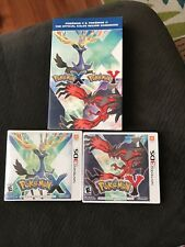 Pokemon X And Y For 3DS. With Stragey Guide