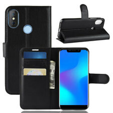 For Doogee X70, Classic Flip Leather Wallet Stand Case Soft TPU Card Slot Cover