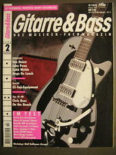 Guitarra & Bass 1995 # 2-Van Halen john peña Zakk Wylde ZZ Top Equipment