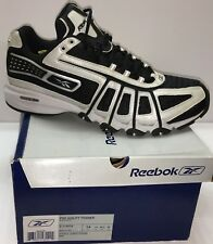 Reebok Pro Agility Trainer Men US 14 Sneaker Shoe Black Sports Conditioning FOAM