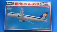 REVELL/ZVEZDA AIRBUS A-320 PLASTIC MODEL KIT 1/144 SCALE LUFTHANSA AIR FRANCE BA