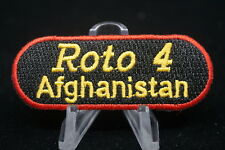 Canadian Forces Military Police MP Roto 4 Afghanistan Patch