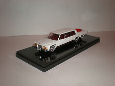 1/43  1982 Cadillac stretch limousine with jacuzzi with displayed case Handmade