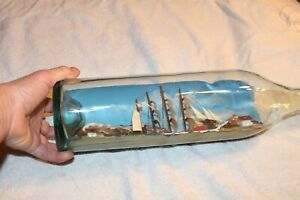 SAILBOAT IN A BOTTLE