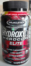 MuscleTech Hydroxycut Hardcore Elite 100 Caps FREE Expedited Shipping New