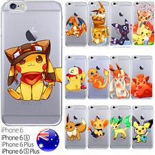 iPhone Silicone Case Cover Pokemon GO Collection Original Ash Misty FreshPrintAU