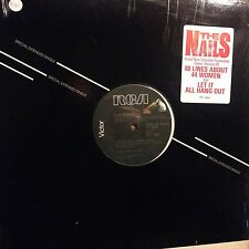 THE NAILS • Let It All Hang Out • Vinile 12 Mix • 1994 RCA