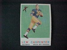 1959  TOPPS  FOOTBALL  #95  CARPENTER    NM-MT+