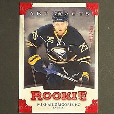 MIKHAIL GRIGORENKO  RC  2013/14  Artifacts Ruby Rookie #180  Buffalo  single YG