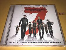 MAGNIFICENT SEVEN soundtrack CD score JAMES HORNER denzel washington chris pratt