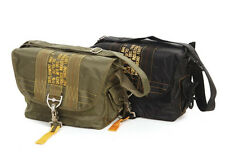 US ARMY PARA BAG PARATROOPER saddle-bag Parachutist Army Bag Black Nam