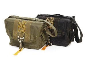 US Army Para Bag Paratrooper Pack Bag Parachute Jumper Army Bag Black Nam